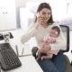5 trabajos remotos flexibles para padres